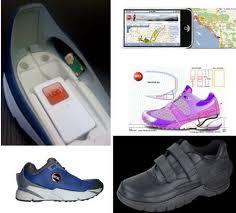 localizzatore gps scarpe
