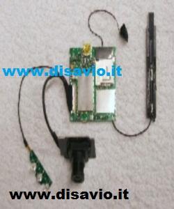 microspia audio video con sim