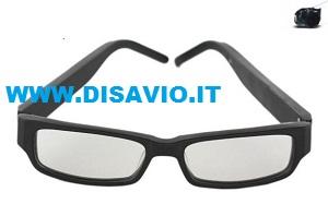 occhiali micro auricolare