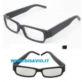 occhiali spia con auricolare