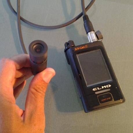 telecamera e registratore portatile
