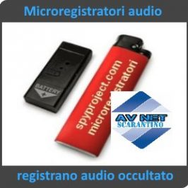 Microregistratori digitali audio