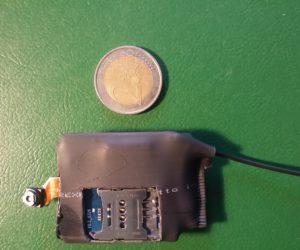 telecamera registratore audio comandata da remoto sms