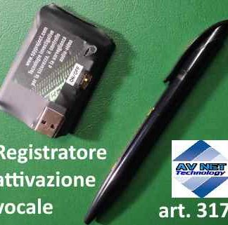 microregistratore audio attivazione vocale