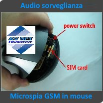 microspia gsm nascosta in mouse