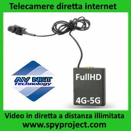 MICROTELECAMERE via INTERNET