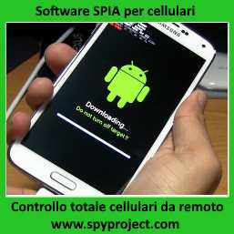 Software Cellulari spia android iphone