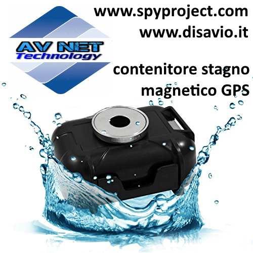 custodia stagna magnetica per gps