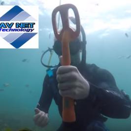scuba metal detector subacqueo
