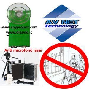 Dispositivo anti microfono laser