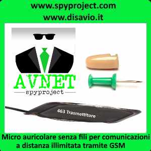 micro auricolare
