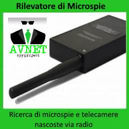 rilevatore di microspie