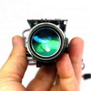 telecamera con teleobiettivo