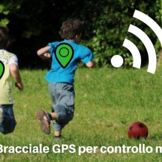 Bracciale GPS per controllo minori