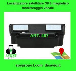 localizzatore satellitare GPS magnetico monitoraggio vocale